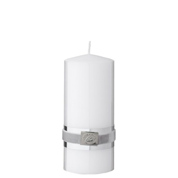 Candle basic ⌀6x14 kolor biały