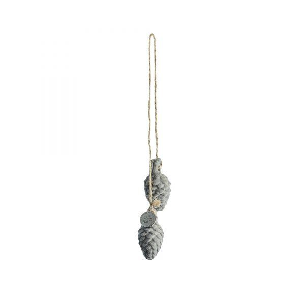 Jalia pine cone 4.5x2x4.5
