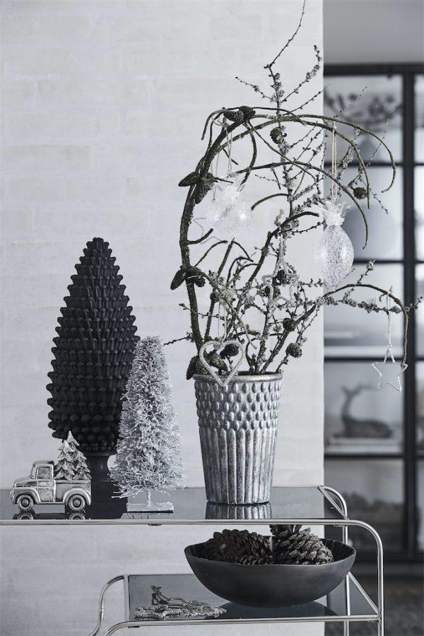 Serafina pine cone 18X18X48