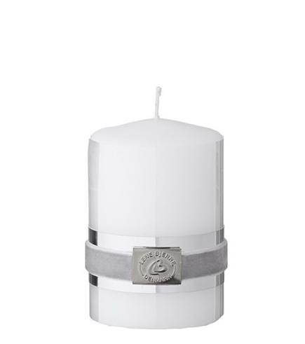 Candle basic me. white 6x9