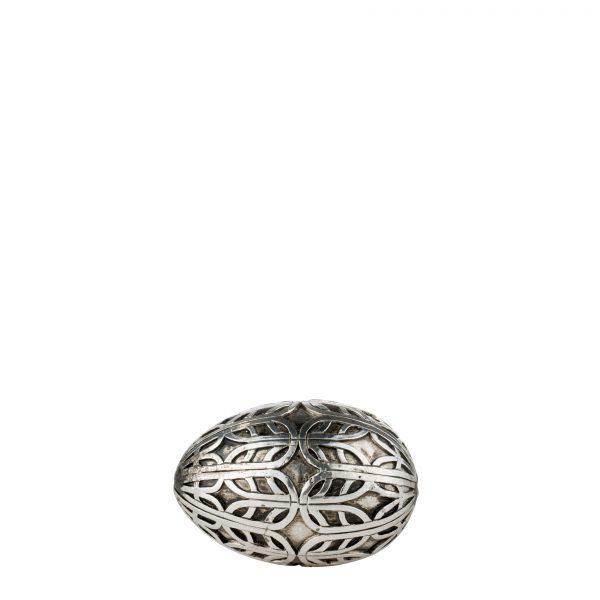 Jajko Semina antyczne srebro